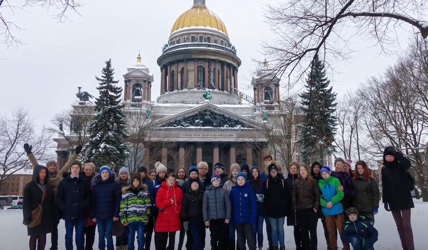 Благотворительная акция Warm Russian Heart