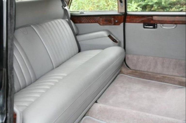 Jaguar Daimler VIP бело-чёрный