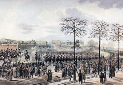 Декабристы на Сенатской площади (4 часа)