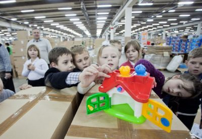 Экскурсия на завод пластмассовых игрушек (4 часа)