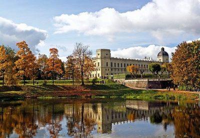 Гатчина. Парк и посещение дворцов и павильонов (6 часов)