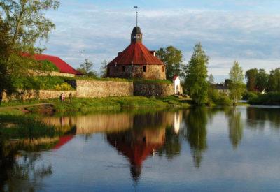 Приозерск крепость Карела