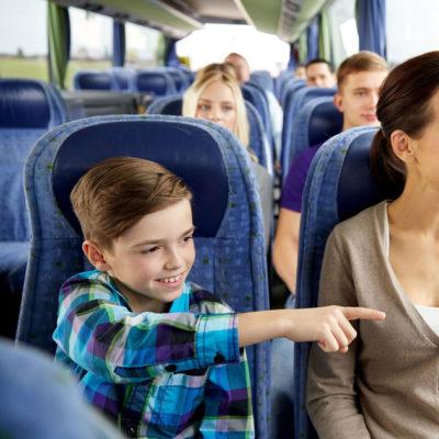 Автобус для школьников и перевозки детей